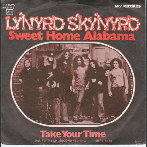Lynard Skynard Sweet home Alabama