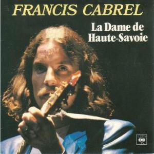 Francis Cabrel La dame de Haute-Savoie