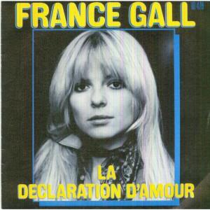 France Gall La déclaration d'amour