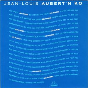 Jean-Louis Aubert Les Plages
