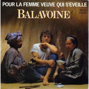 Daniel Balavoine Pour la femme veuve qui s'éveille